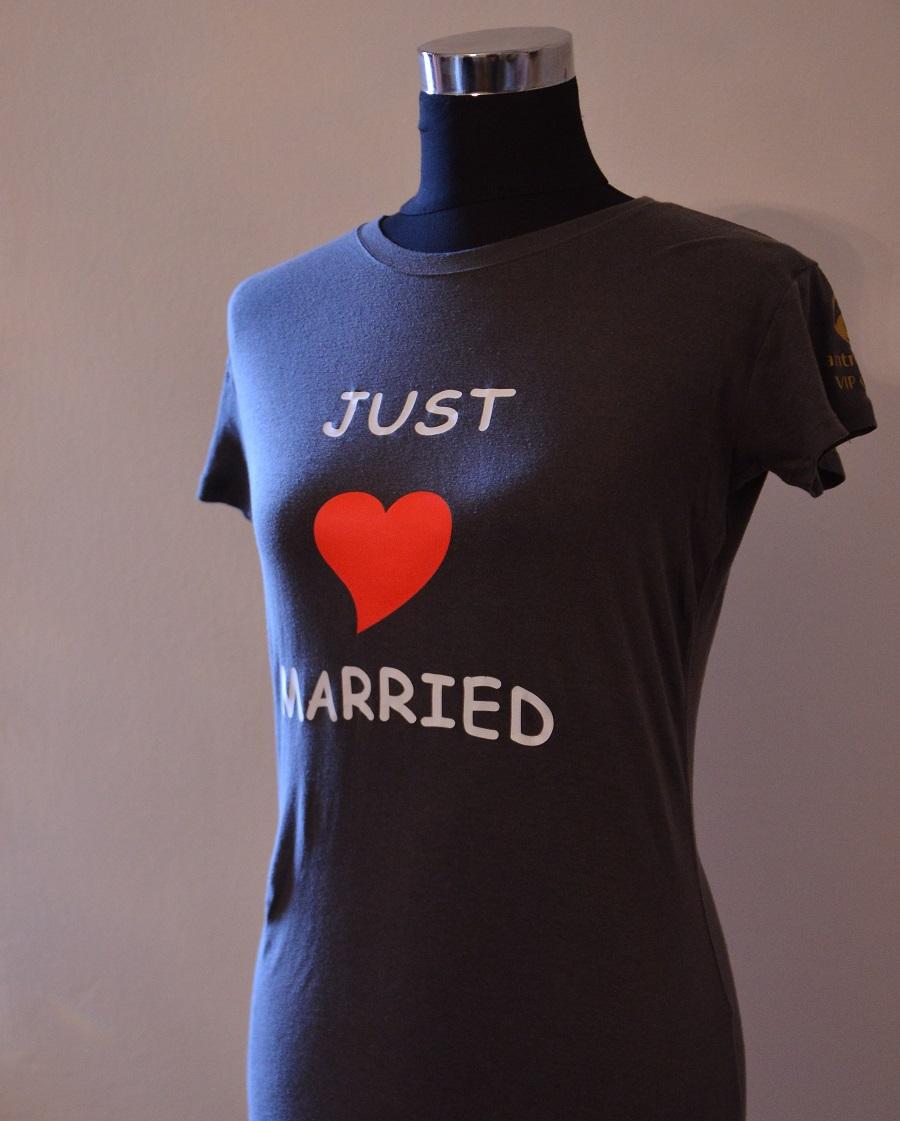 Majica antropoti – Just Married